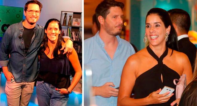 Gianella Neyra feliz de recibir ayuda de Cristian Rivero.
