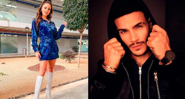 Luciana Fuster y Mario Irivarren solo tiene un vinculo de amistad.