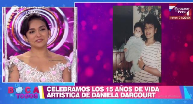 Daniela Darcourt cumple 15 años de vida artística.