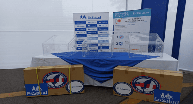 Donación de 500 cajas de protección para personal de salud.