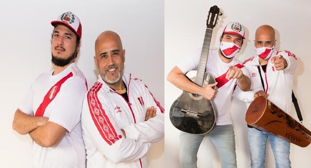 Marco Romero y Gonzalo Calmet cantan nueva canción junto a la Selección Peruana de Fútbol.