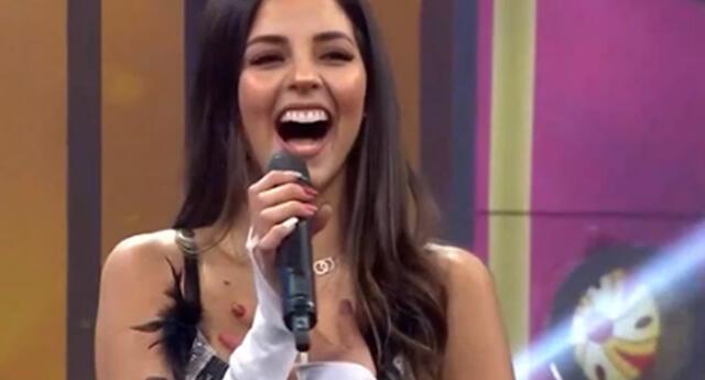 Luciana Fuster revela que admira el talento de Sebastián Yatra