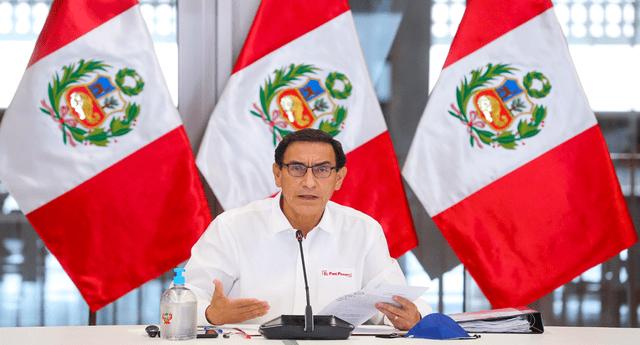 El partido Unidos por el Perú iniciará la recolección de firmas para iniciar moción de vacancia contra el presidente Martín Vizcarra