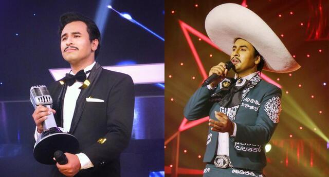 Luis Ortega actúa en obras musicales y ahora destaca como imitador de Pedro Intante.