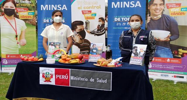 El Ministerio de Salud recomienda el consumo de frutas y verduras para evitar enfermedades como el cáncer.