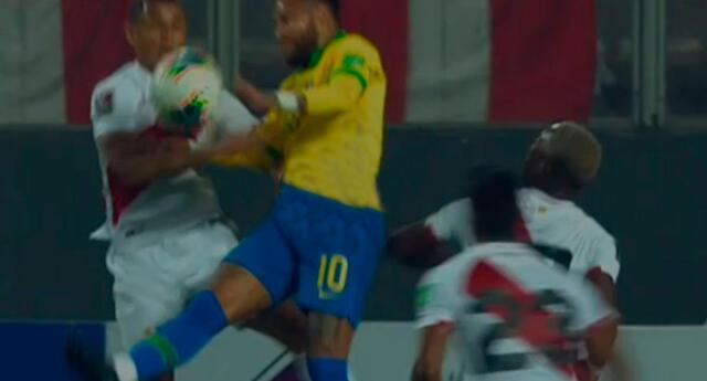 Neymar habría metido mano