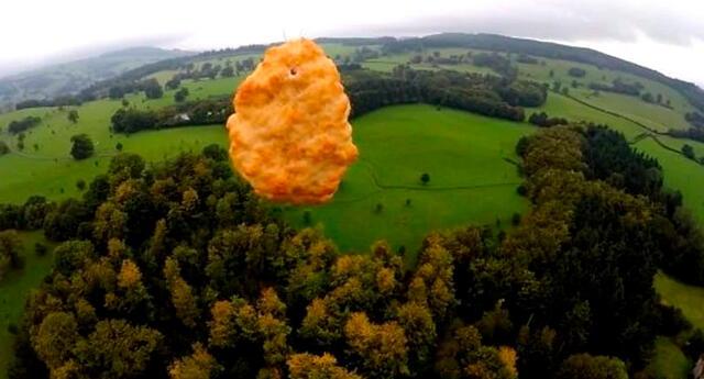 Se cree que este es el primer nugget que se envía al espacio.