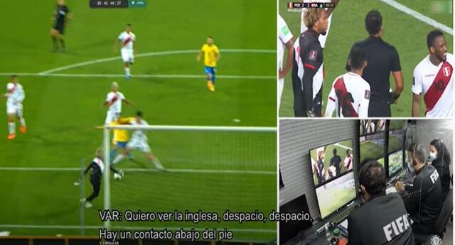 Gran polémica en el Perú vs. Brasil por las Eliminatorias Qatar 2022.