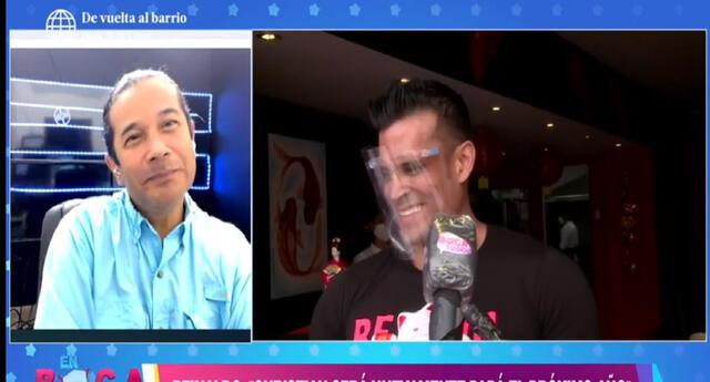 Christian Domínguez no confirmó ni negó embarazo de Pamela Franco.