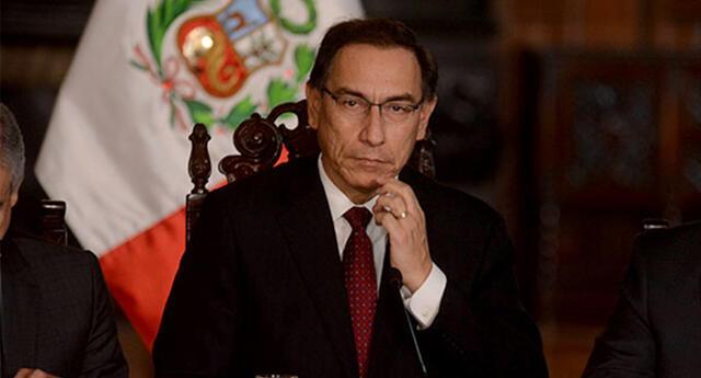 Fiscalía abre proceso de investigación para Martín Vizcarra.