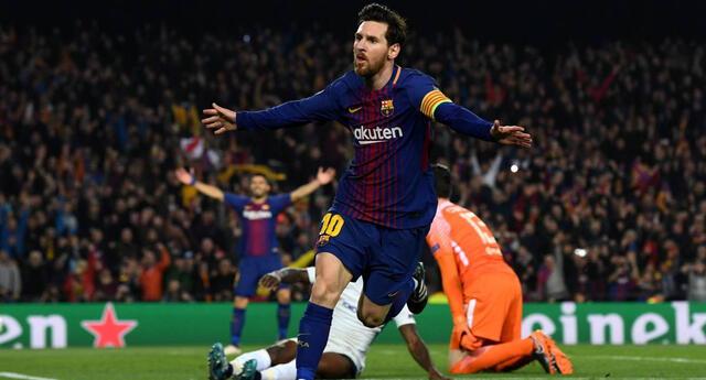 Messi y su nueva Liga de Campeones con el Barcelona.