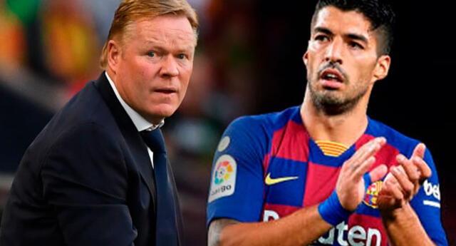 Ronald Koeman no se arrepiente de echar a Luis Suárez.