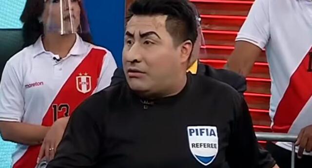 Julio Bascuñán, el gran personaje del Perú vs. Brasil.