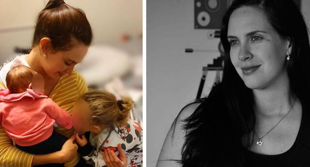 Emilia Drago celebra los 5 meses de su bebé Luna.