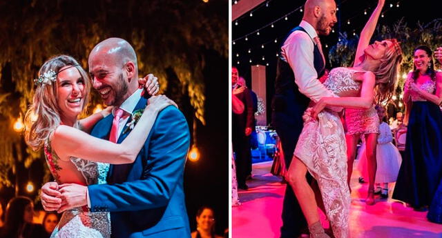Juliana Oxenford a dos meses de festejar su segundo aniversario de bodas.