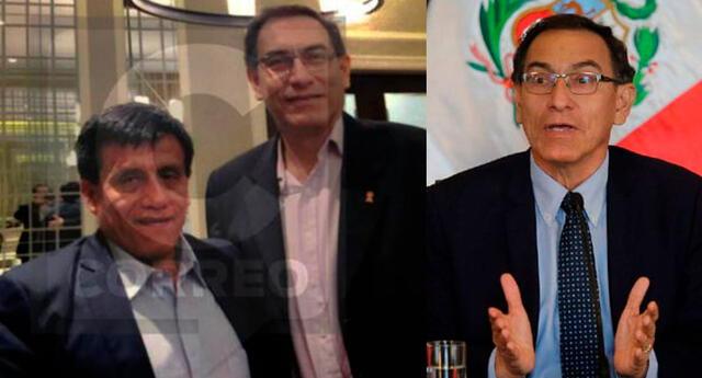 Vizcarra responde por las supuestas fotos donde lo ven con Camayo.