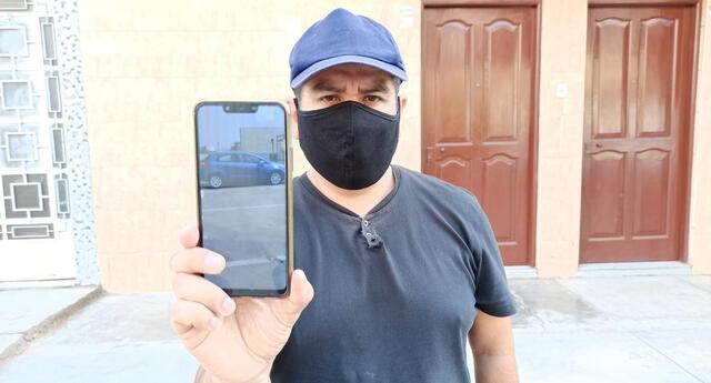 Agraviado pide celeridad a las autoridades de Los Olivos. Ladrones le han arrebatado su herramienta de trabajo.