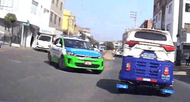 El serenazgo de Surco detuvo a una mototaxi que realizaba robos al paso dentro del distrito.