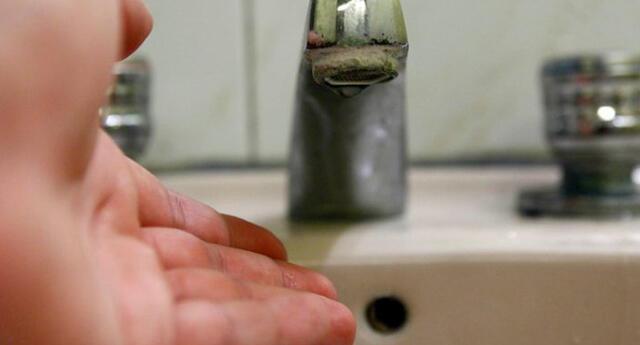Sedapal anunció nuevo corte de agua.
