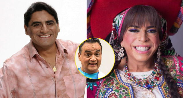 Carlos Álvarez jala orejas a Chola Chabuca y Jorge Benavides.