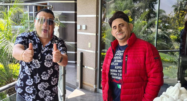 Carlos Álvarez realiza divertida parodia de Lapadula en 'La vacuna del humor'