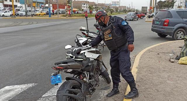 Detienen a malhechor en Los Olivos.