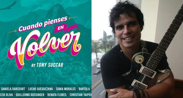 Pedro Suárez Vértiz escribió emocionado un agradecimiento a Tony Succar y todos los artistas que trabajaron en la nueva versión de su canción.