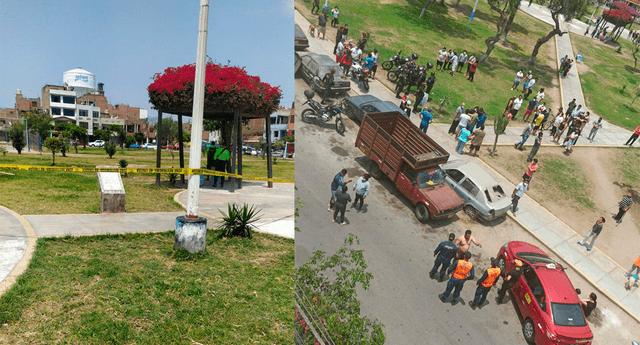 Dos policías heridos en intervención