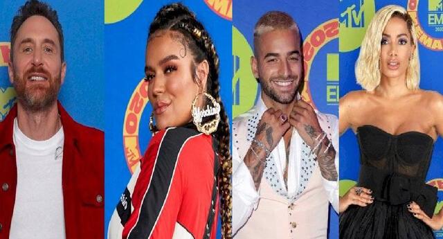 Estos son los vestidos, trajes y looks que engalanaron en los MTV EMAs 2020.