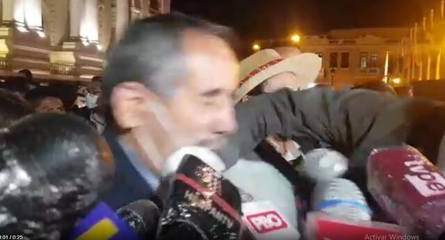 Congresista Burga fue agredido por un puñetazo.