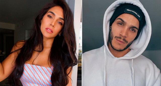 Vania Bludau asegura que Mario Irivarren es solo su amigo.
