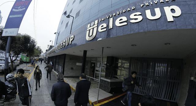 Universidad Privada Telesup envió carta notarial a Sunedu días después de que Merino asumiera el poder.