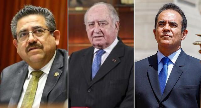 Fiscalía de la Nación inicia investigación contra Manuel Merino, Ántero Flores-Aráoz y Gastón Rodríguez por Inti y Brayan.