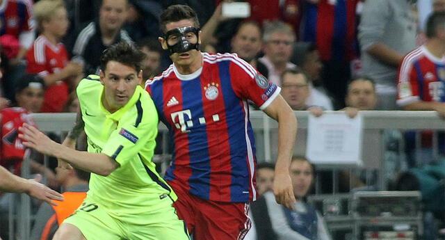 Lewandowski y Messi un duelo de nunca acabar.
