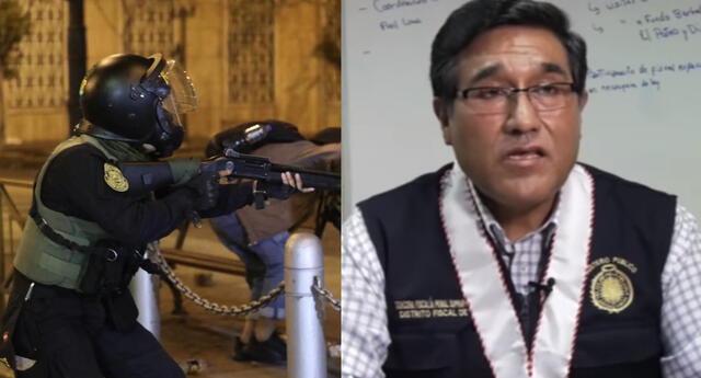 Fiscal Yoni Soto Jiménez investiga muerte de jóvenes en protesta contra la vacancia