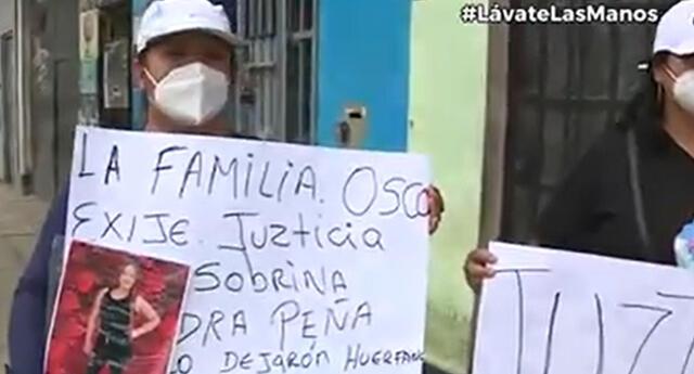 Familiares se instalaron en los exteriores de la discoteca Thomas Restobar para exigir justicia.