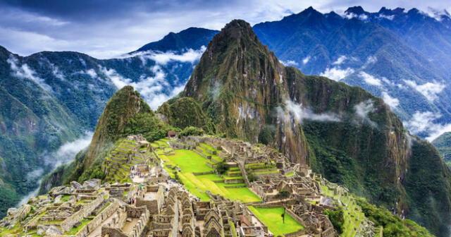 Machu Picchu, una de las maravillas del mundo moderno.
