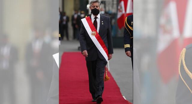 Francisco Sagasti y su renuncia a las elecciones 2021.