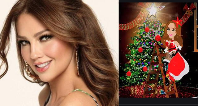 Thalía estrena canción y videoclip de 'Feliz Navidad' en ritmo de merengue