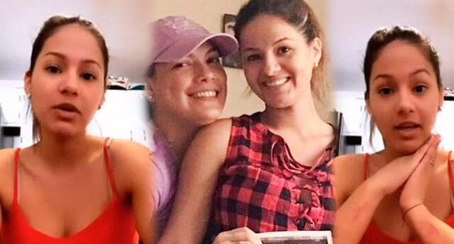 Katty García se muestra más enamorada que nunca tras regresar con Karim Vidal.