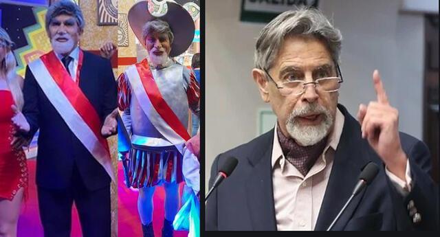 """Fernando Armas a Francisco Sagasti sobre su imitación: """"Es con mucho respeto y cariño"""""""