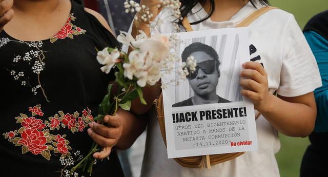 Convocan nueva marcha nacional por muertes de Inti Sotelo y Bryan Pintado.