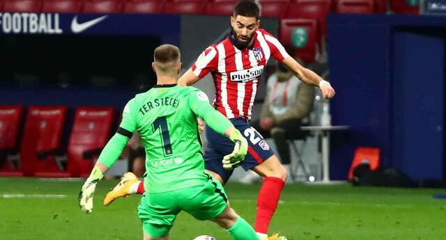 Atlético de Madrid fue más y por eso se llevó la victoria ante Barcelona.