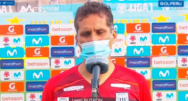 Leao Butrón hizo mea culpa tras crisis de Alianza Lima.