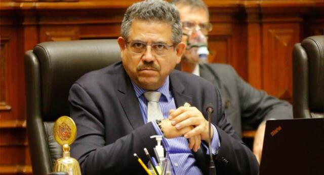 Merino solicitó instalaciones del Congreso para conferencia de prensa