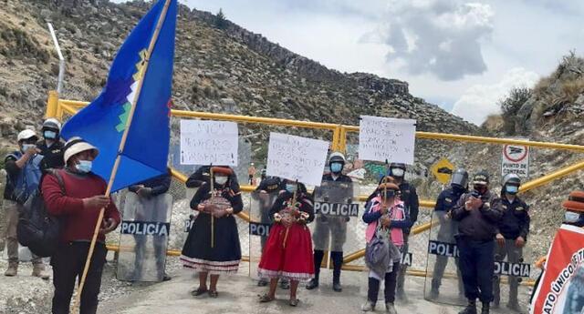 Anuncian marcha contra Las Bambas