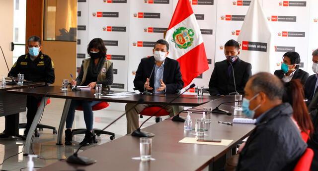 Reunión contó con la participación de la CNDDHH y el Comandante General de la Policía Nacional, Orlando Velasco.