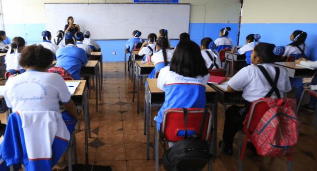 El ministro de Educación propone que el proyecto sea evaluado por el MEF.