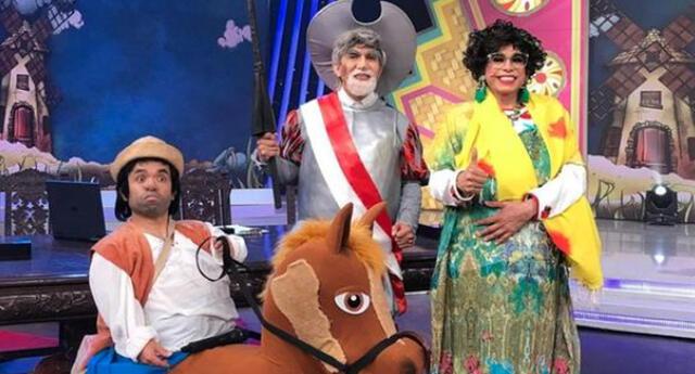 Fernando Armas imita al presidente Francisco Sagasti como 'Don Quijote'