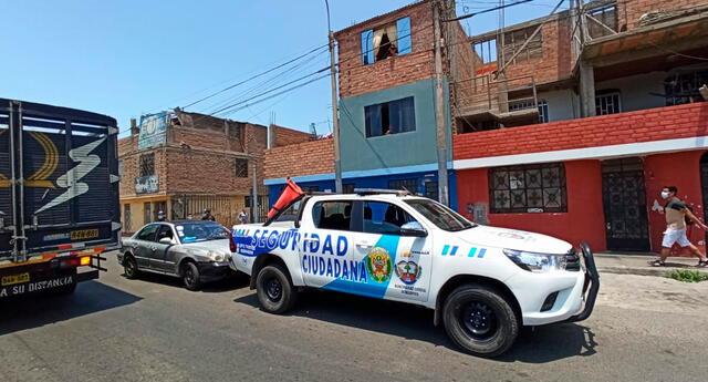 Teniente alcalde del Callao se salvó de morir a manos de unos presuntos sicarios.